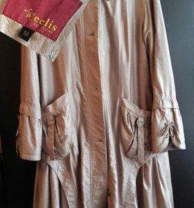 Куртка плащ новая 50 ращмера