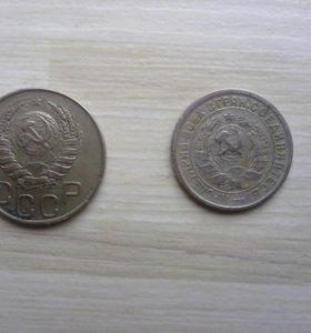 Две монеты