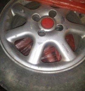 Литые диски с резиной R 15