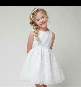 Платье кружевной (новое!!!)