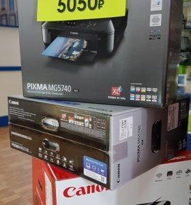 Принтер сканер копир МФУ Canon MG5740
