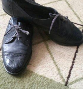 Кожаные ботиночки Германия
