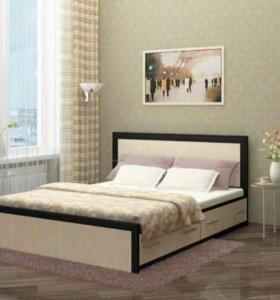 Кровать двухспальная МОДЕРН с ящиками!!!