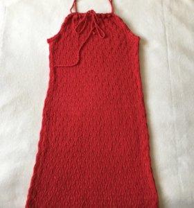 Вязаное платье новое 44-46р
