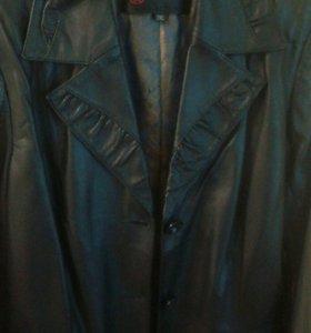 Кожаный куртка