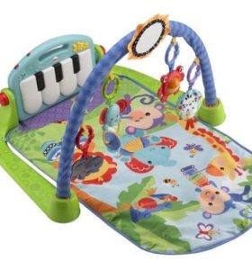 Развивающий музыкальный коврик-пианино