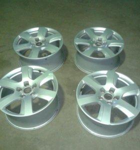 Литые диски R17 на Audi