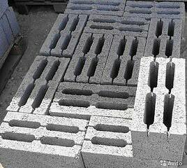 Керамзитобетонные блоки Сте Фундаментные Цокольные