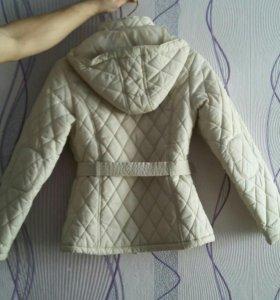 Куртка осеннее-весенняя бежевая