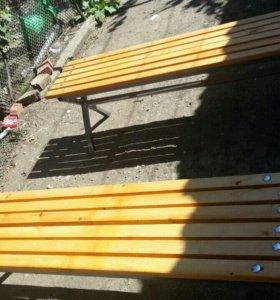 Стол с камейки