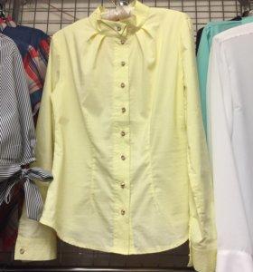 Блузка лимонного цвета