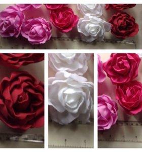 Цветы из фоамирана,для скрапбукинга(опт и розница)