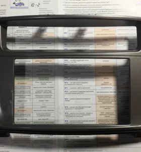 Рамка магнитолы Toyota Land Cruiser 100