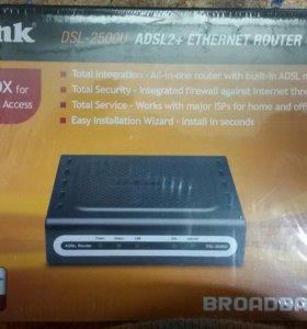Router  D-link DSL-2500U