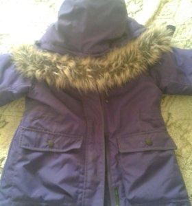 Куртка зимняя Lassie 98 размер
