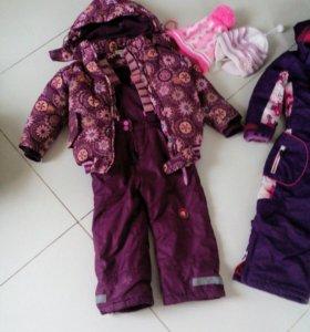 Детские деми куртки 4-5 лет, рост 92-110