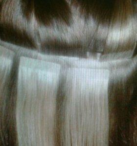 Волосы для ленточного наращивания 25 см
