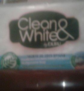 Мыло душистое clean&white