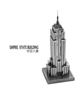 Сборная металлическая 3D модель-Emprie State Build
