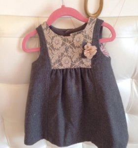 Платье - сарафан р 2-3 года