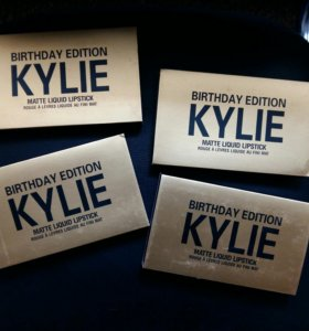 Kylie Birthday Edition Жидкие матовые помады
