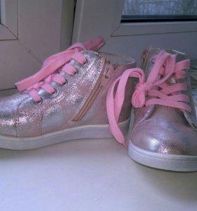 Новые ботинки. Натуральная кожа