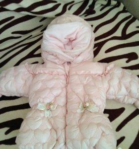 Куртка на девочку на весну новая