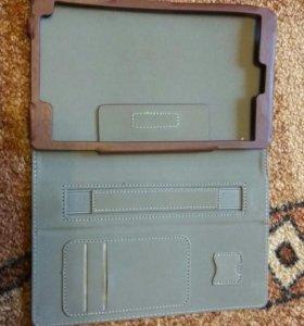 Чехол asus ZenPad8.0 новый. Коричневый 750,