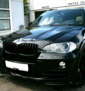 Бампер Hamann Flash BMW X5 E70
