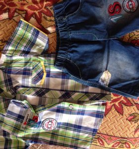 Шорты и рубашка