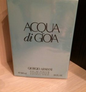 "Giorgio Armani ""Aqua Di Gioia"" 100 мл"