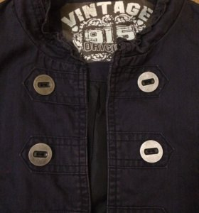 Ветровка из джинсы с подкладкой