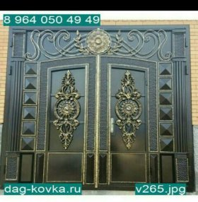 Ворота,решетки и навесы из поликарбоната
