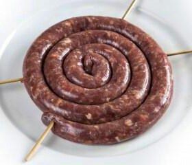 Колбаска для жарки из оленины