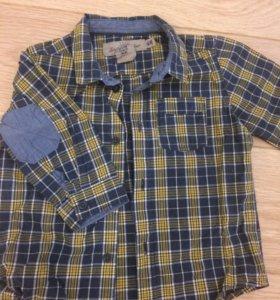 Рубашка на мальчика 1-1,5 годп