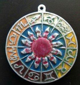 Кулон знаки зодиака