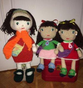 Красивые куколки в подарок для детей