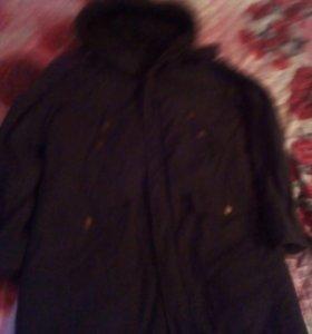 Куртка аляска от офисной формы.