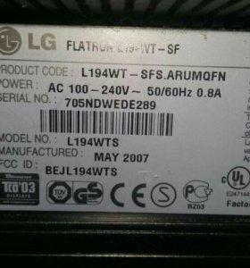 "Монитор LG 19"" с колонками в комплекте"