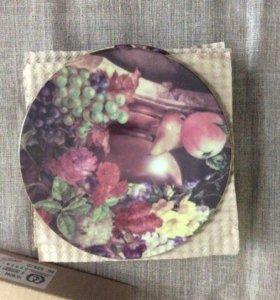 Набор тарелок Чехия