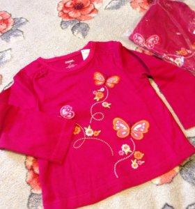 Новые блузки 2г-2 шт