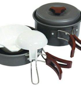 Набор посуды Tramp TRC-025 анодированный алюминий