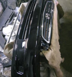 Бампер передний решетка Honda Civic