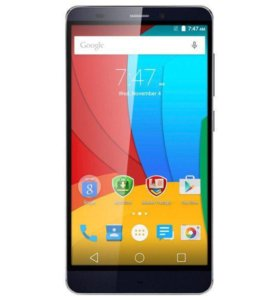 Смартфон Prestigio Grace S5 5551 DUO LTE Blue