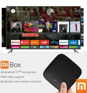 Xiaomi MI Box 3 (Новые не распакованные)