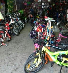 Вело самокаты ролики