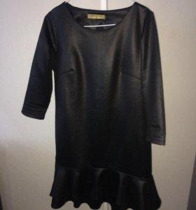 Платье под Кожу