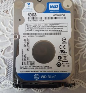 Жесткий диск для ноутбука.WD 500GB