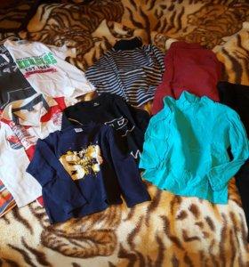 Пакет вещей на мальчика 5 лет 116см