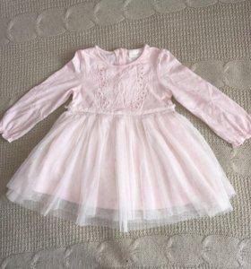 Платье next на 1 годик